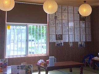 高江洲そば店内の色紙