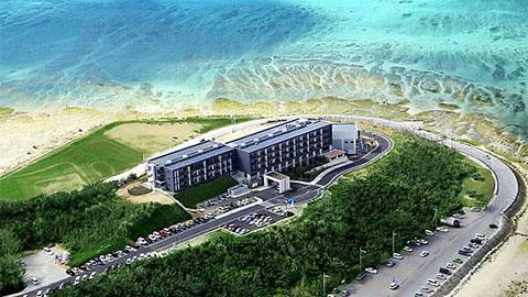 瀬長島ホテル俯瞰