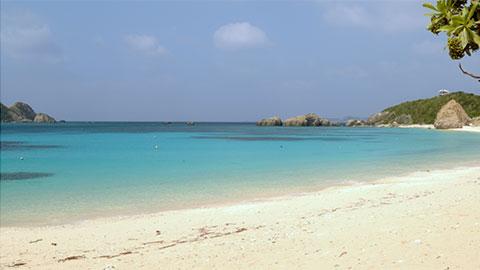 ケラマ 阿波連ビーチ