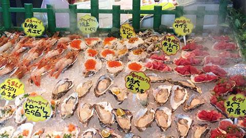 道の駅いとまん 鮮魚コーナー