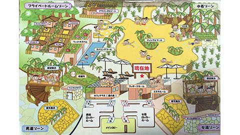 シギラ黄金温泉 マップ