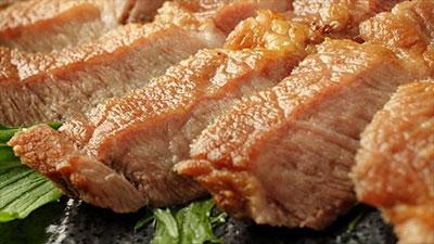 草花木果 アグー豚のステーキ