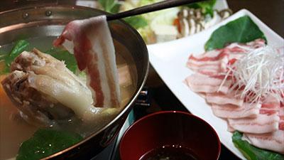 アグー豚の白湯しゃぶしゃぶ鍋